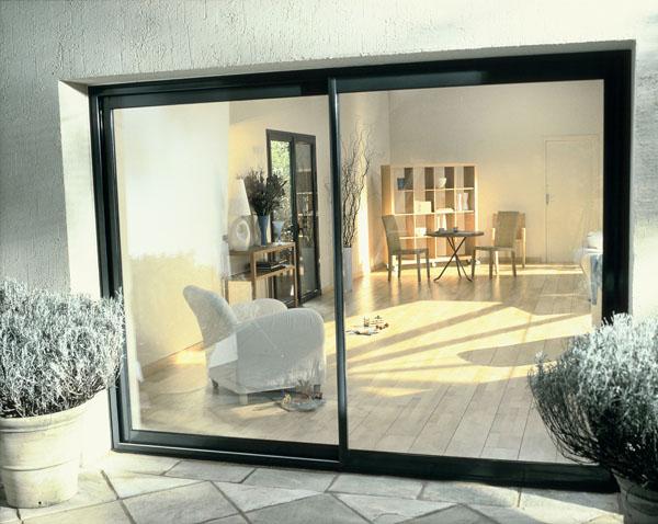 baies coulissantes et baies repliables raub mc prc. Black Bedroom Furniture Sets. Home Design Ideas