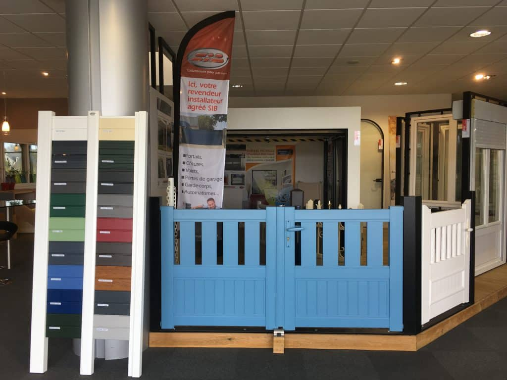 Showroom portails