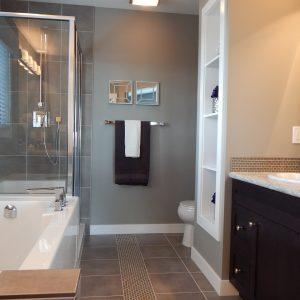 bathroom vitre de douche